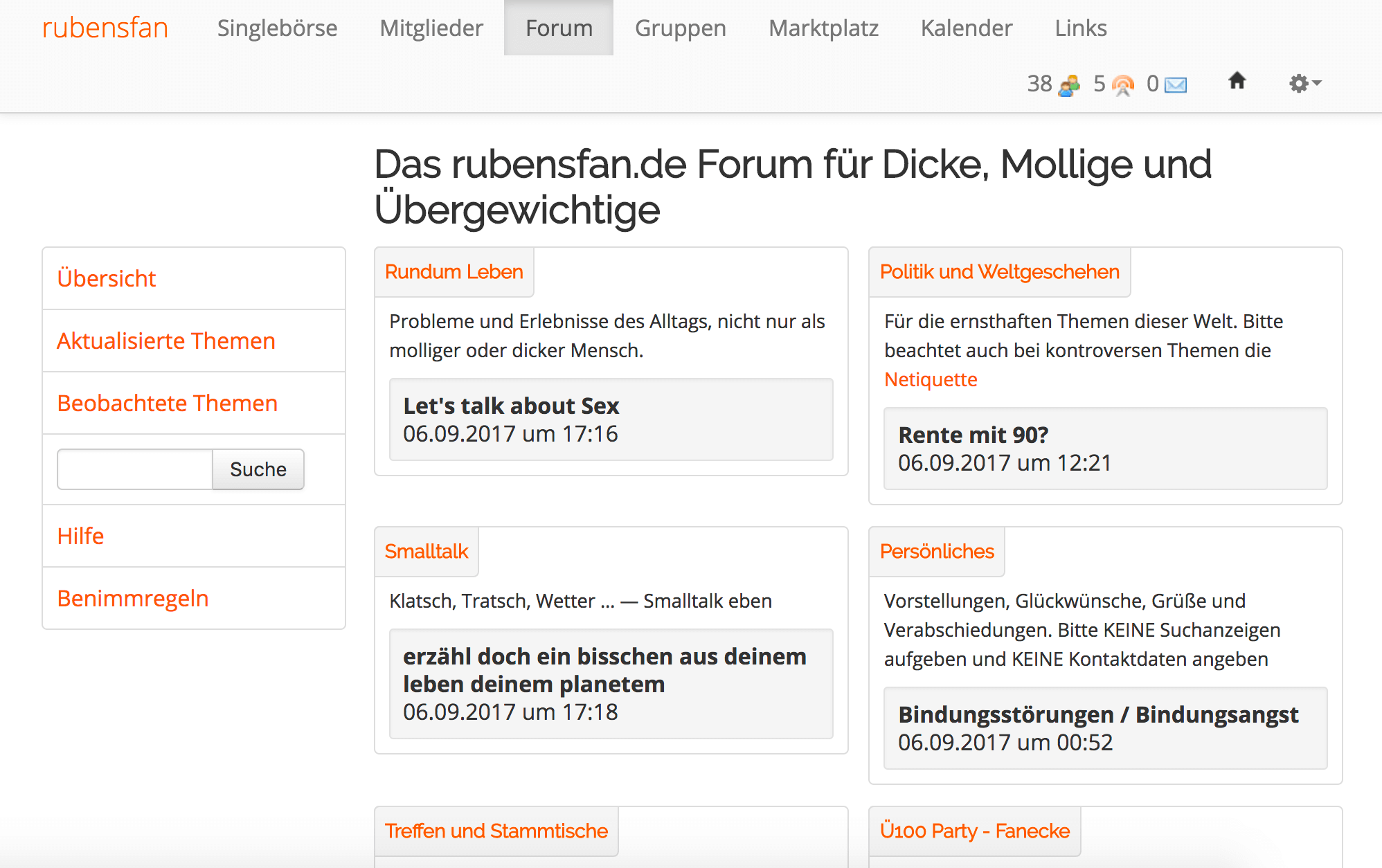 rubensfan forum