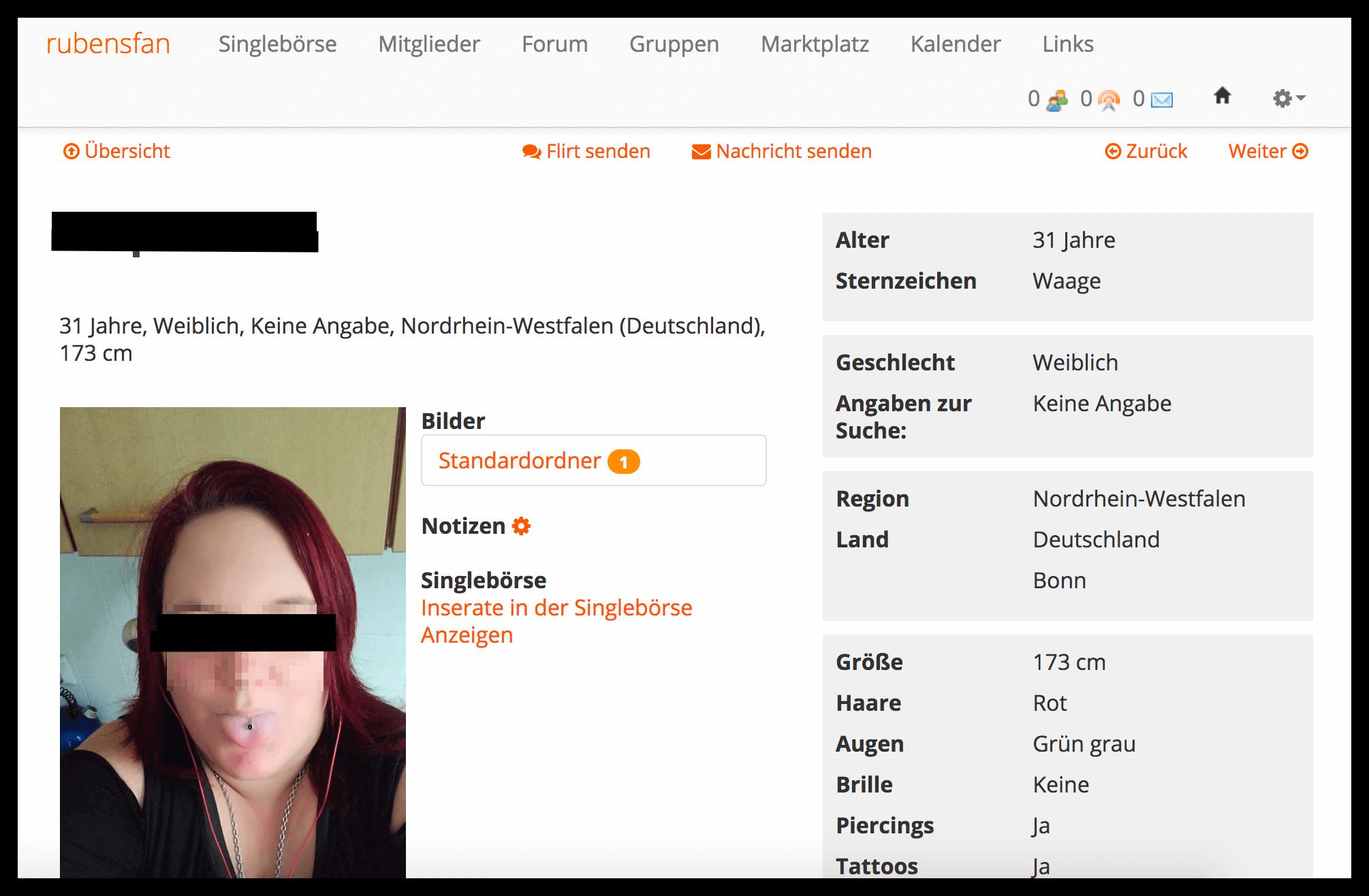 rubensfan profil