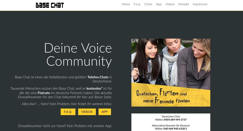 Base Chat Startseite
