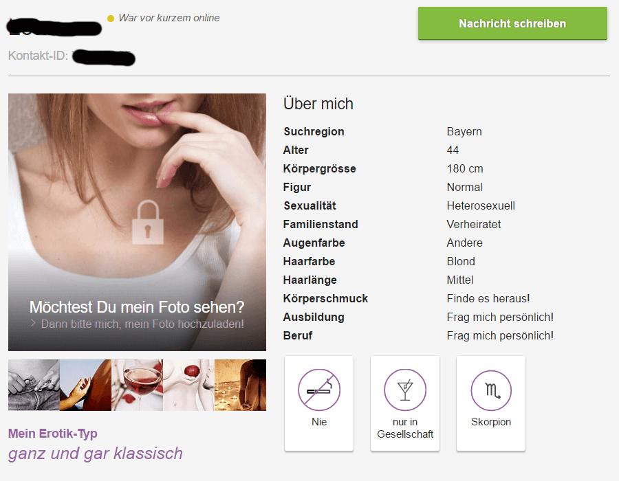 C-date Profil