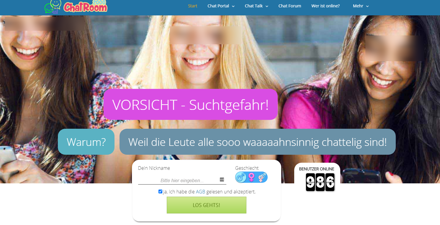 Chatroom2000 Ueberblick