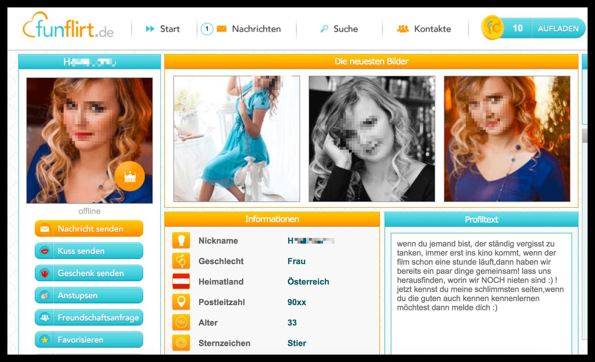 FunFlirt Profile