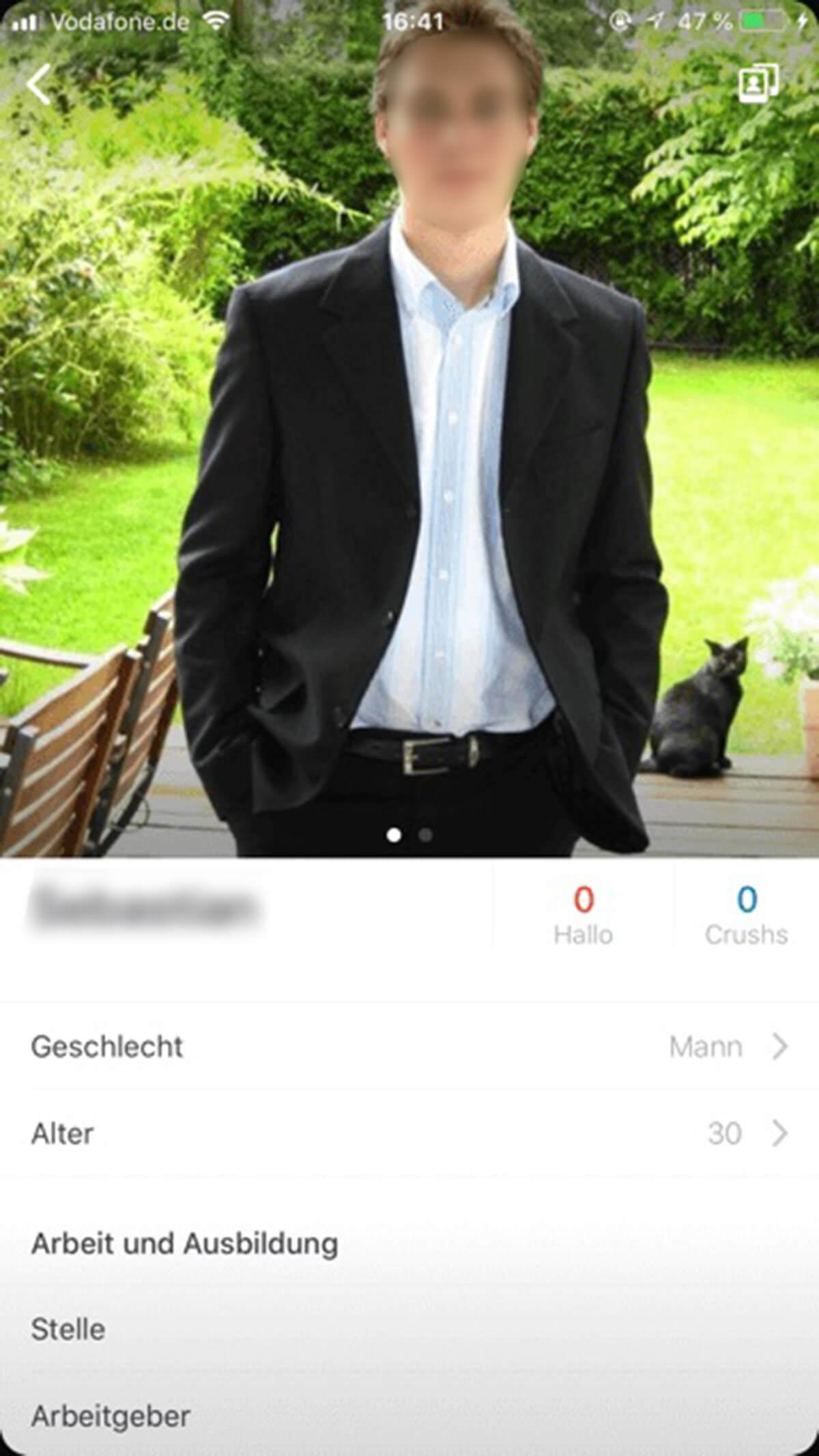 Happn Profil