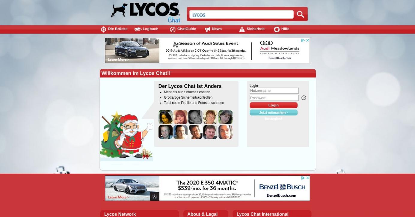 Lycoschat Starseite