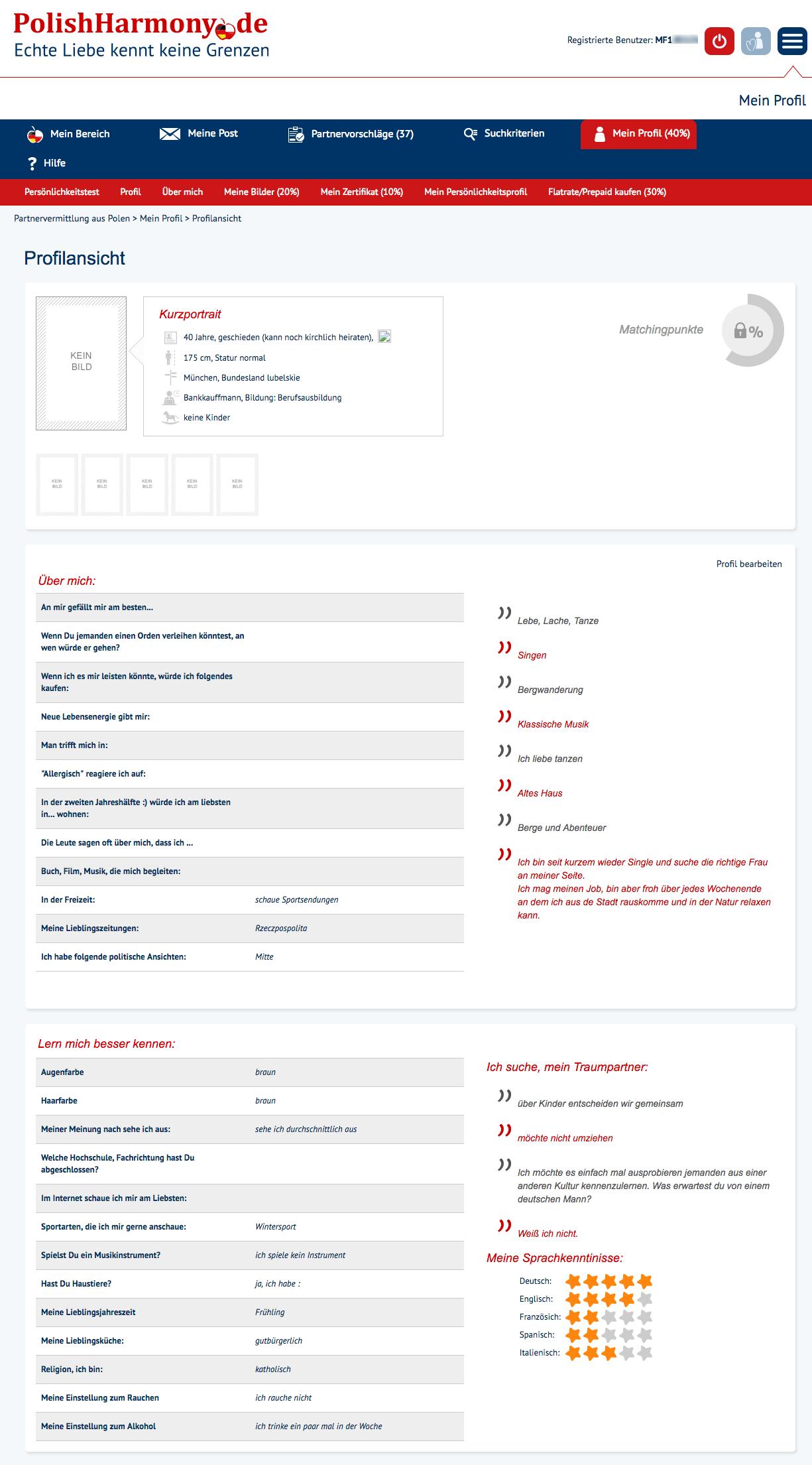 Test polnische partnervermittlung