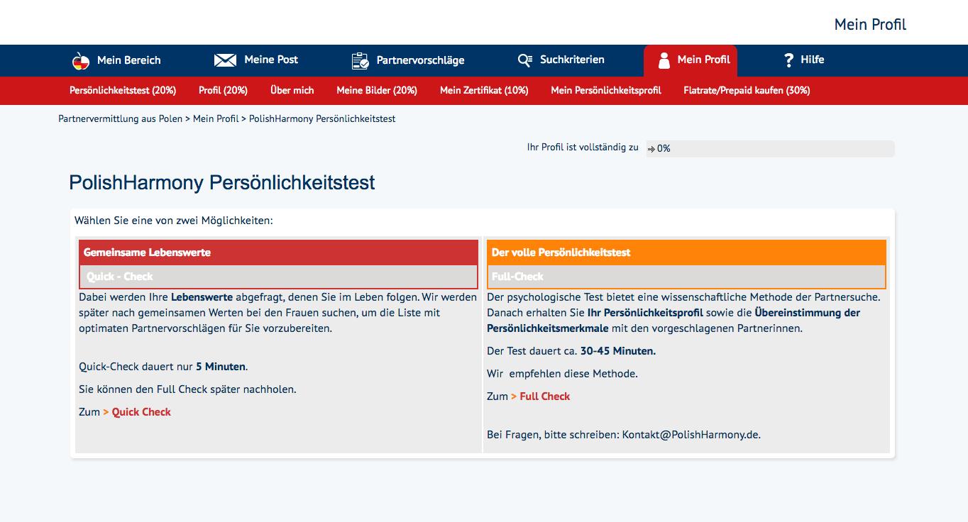 Polnische partnervermittlung im test