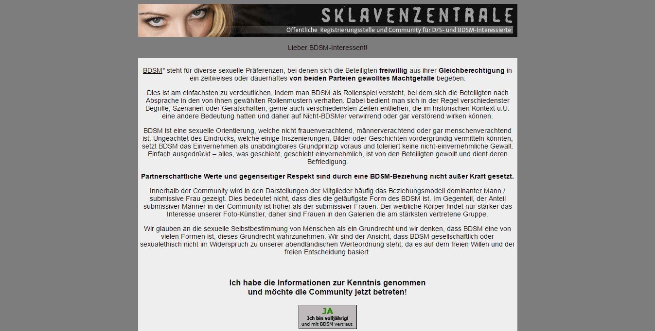 Startseite Info