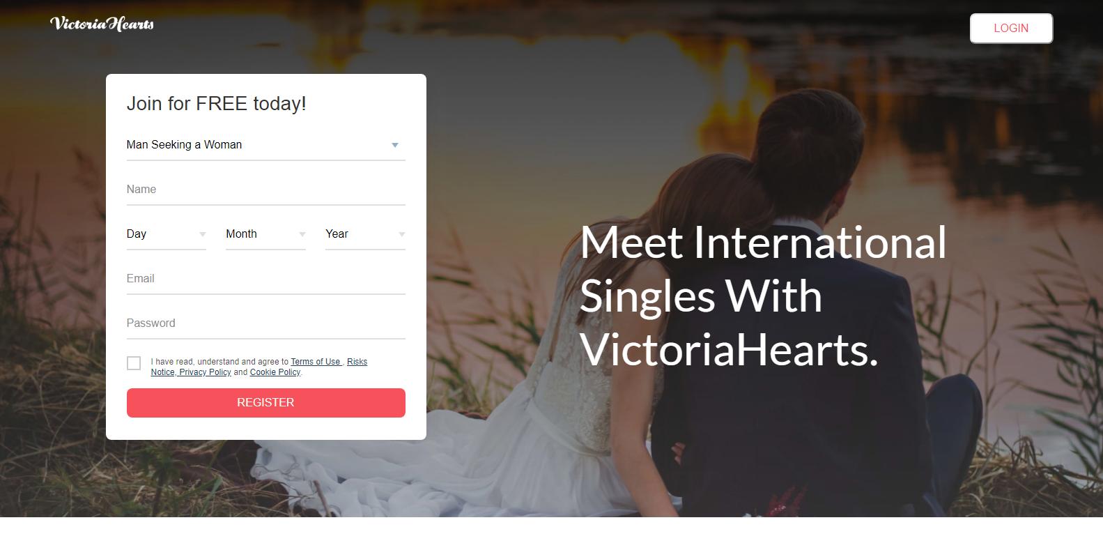 Victoria Hearts Anmeldung