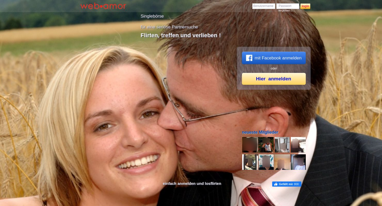Web-Amor Startseite