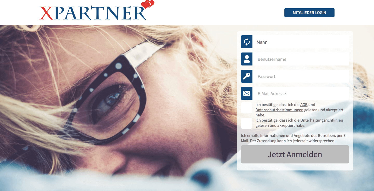 XPartner Registrierung