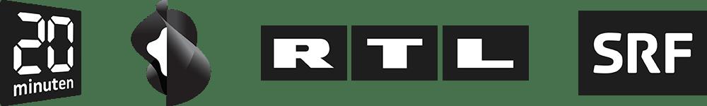 Logos Publikationen Schweiz