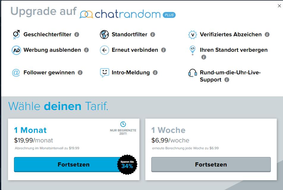 Random chat deutsch