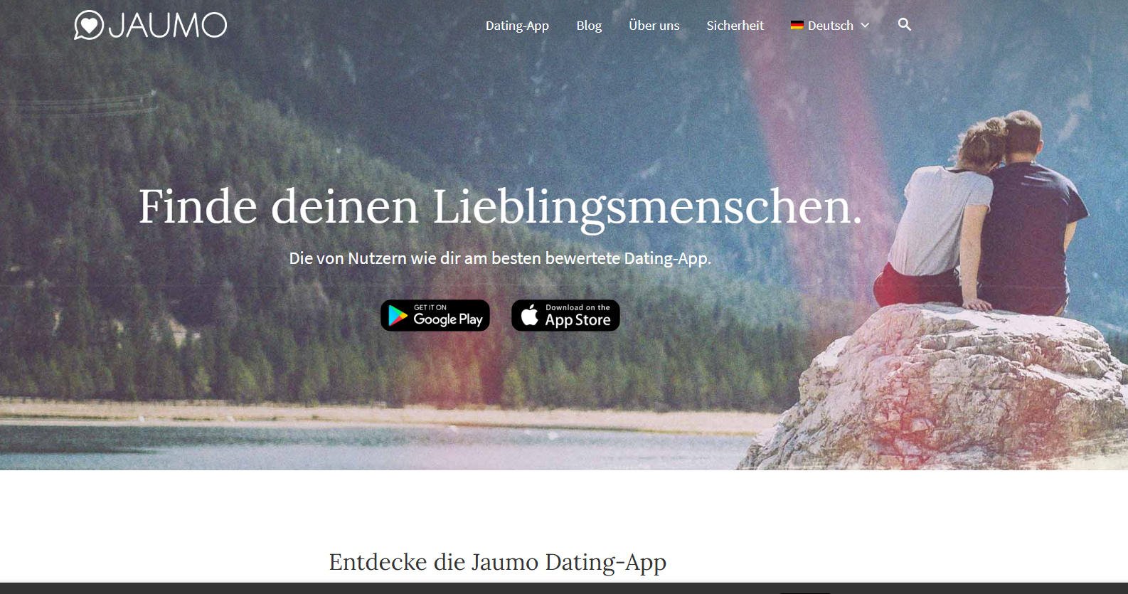 Jaumo Startseite