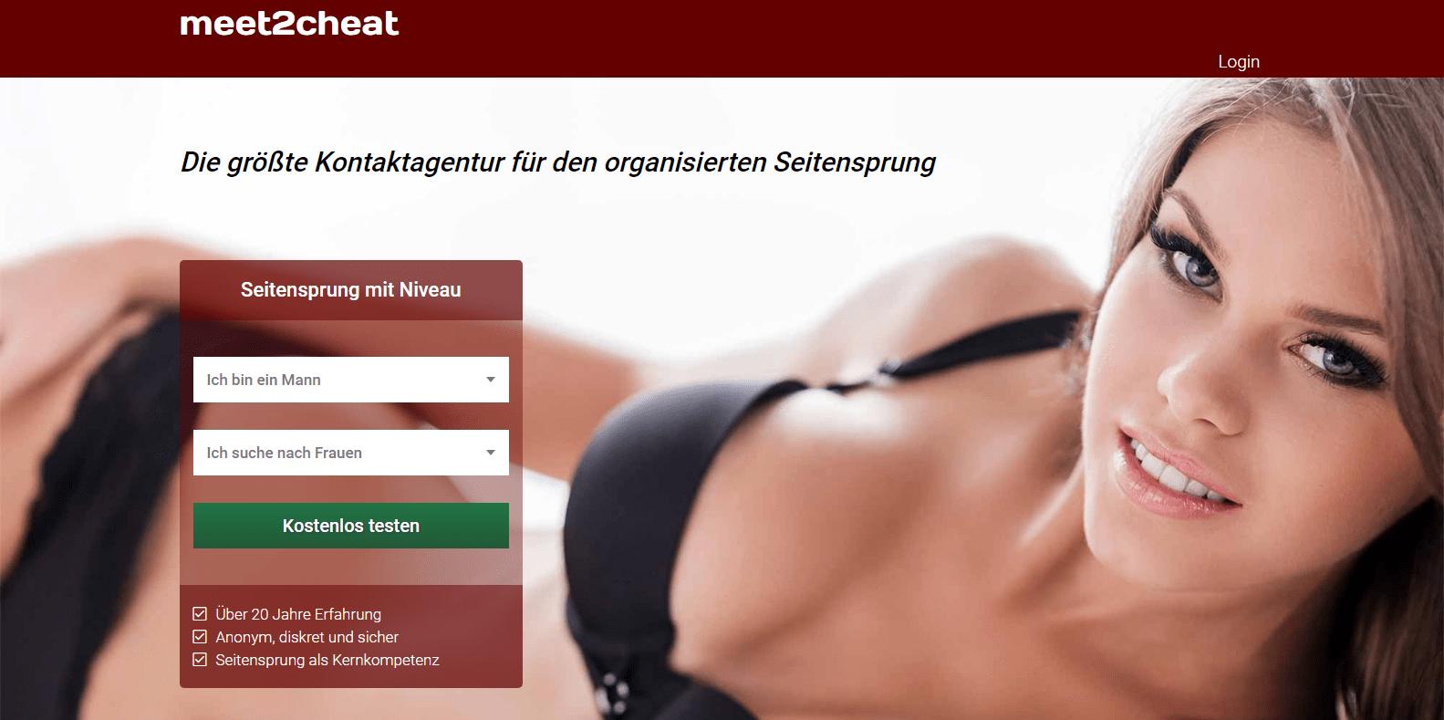 Meet2cheat Anmeldung