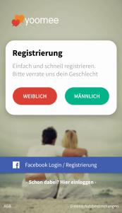 Yoomee Registrierung