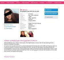 Ashley Madison Profil