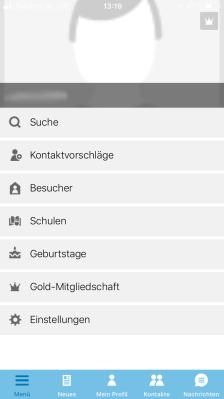 Stayfriends App Screenshot