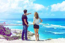 Sightmatching Paar am Strand