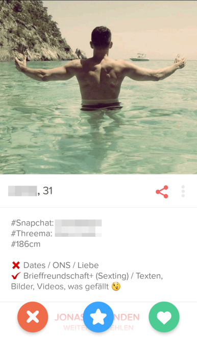 Tinder Profilbeschreibung provokant