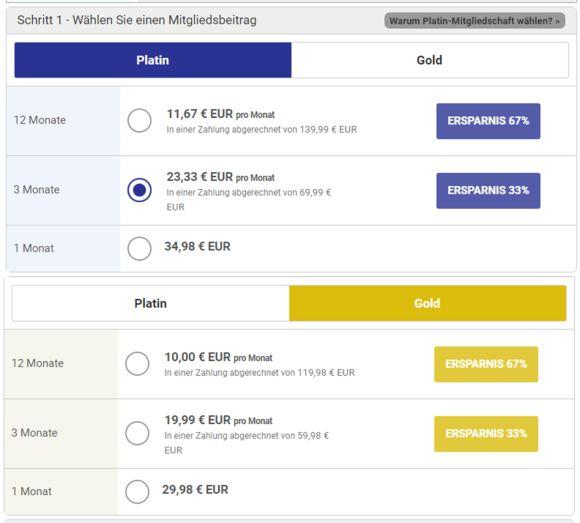 BrazilCupid Kosten