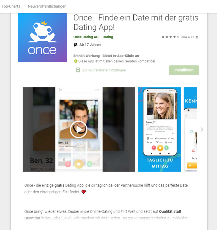 Once App