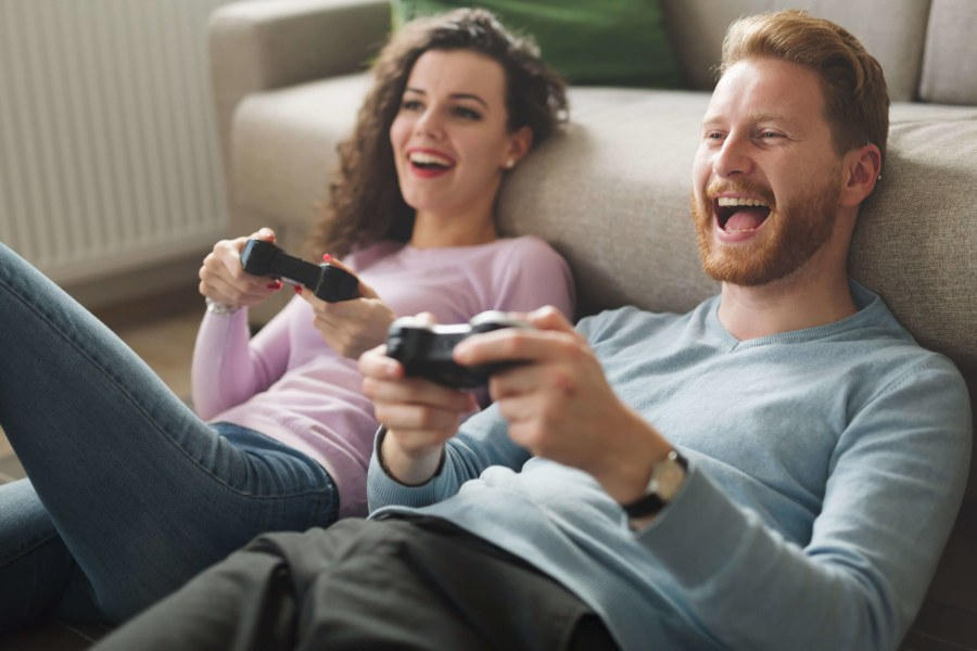 Gamer-Freunde