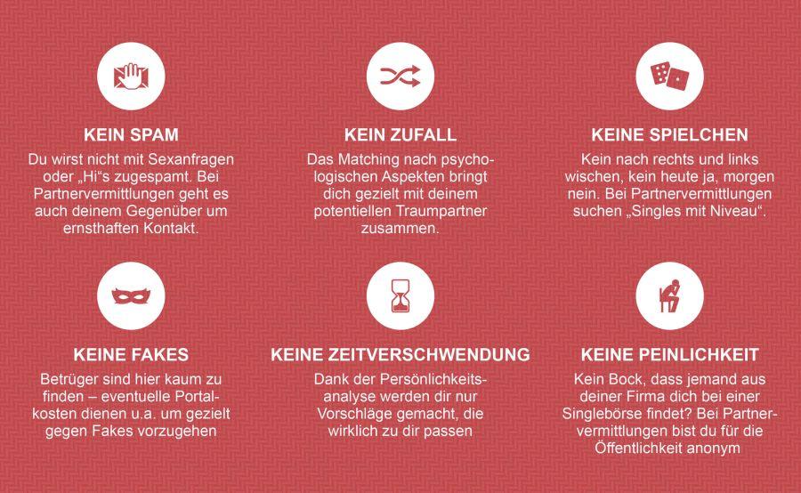 Vorteile von Online Partnervermittlung