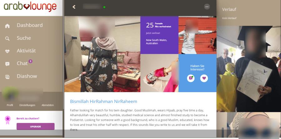 ArabLounge Userprofil