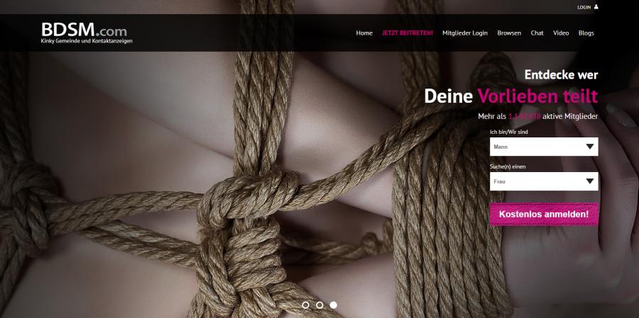 BDSM Anmeldung