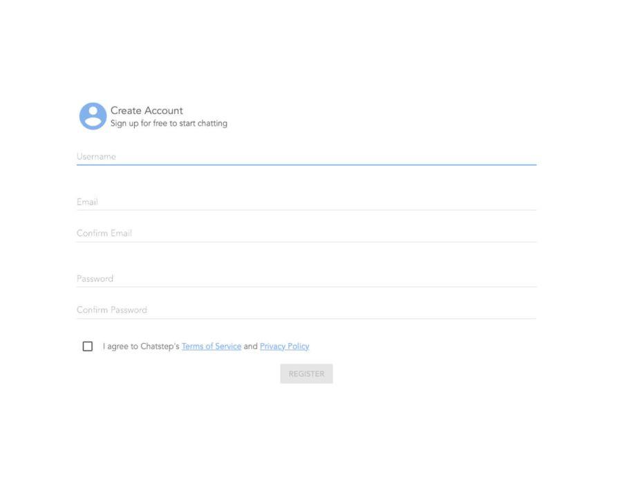 Chatstep Anmeldung