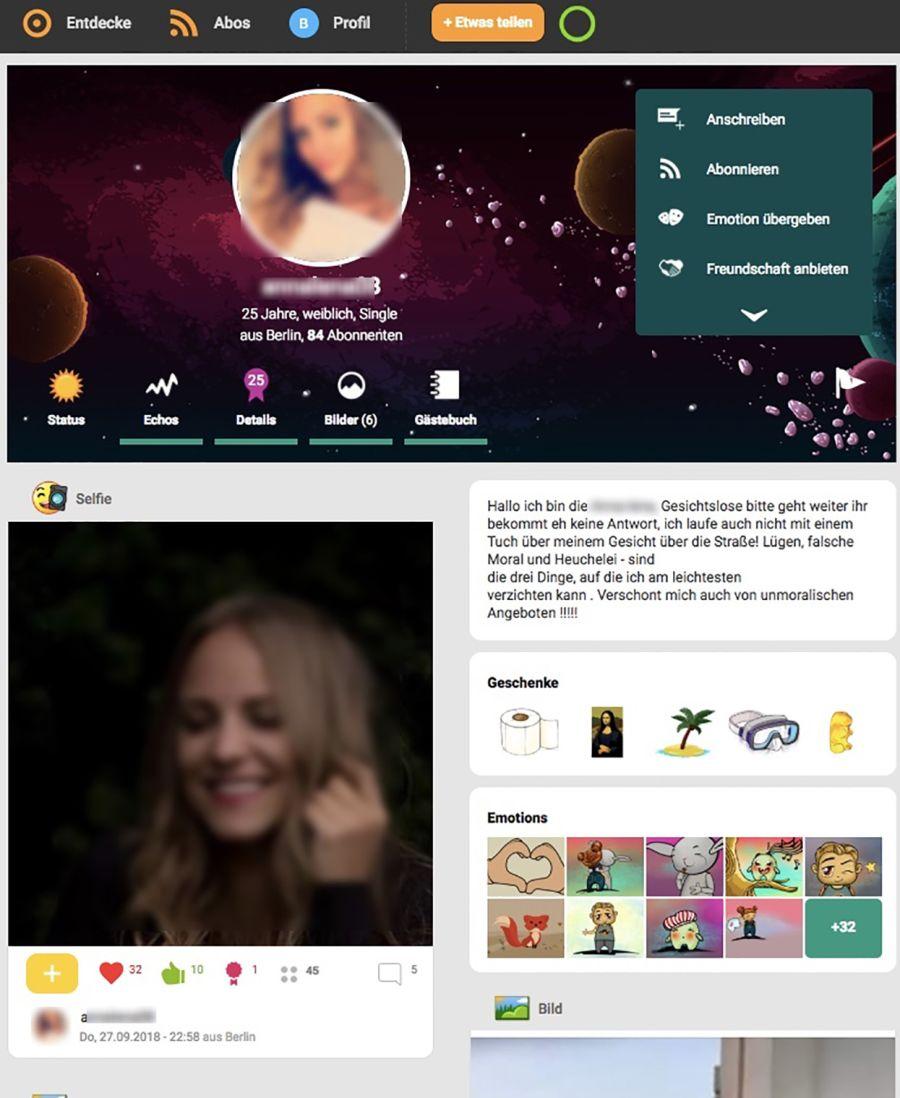 Jappy Frau Profil