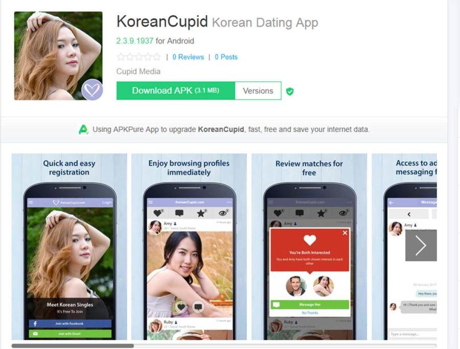 KoreanCupid App