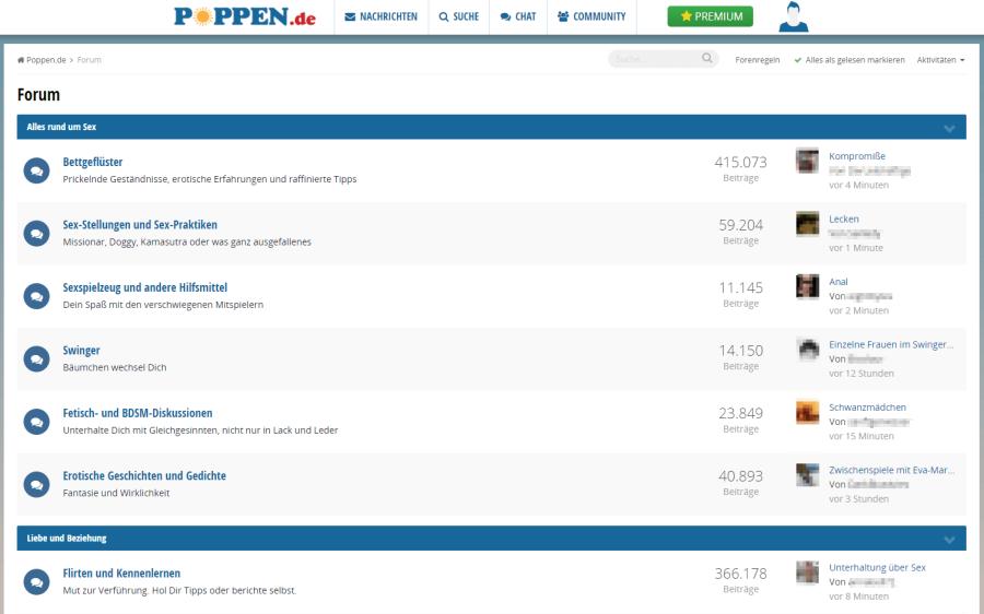 Poppen.de Forum