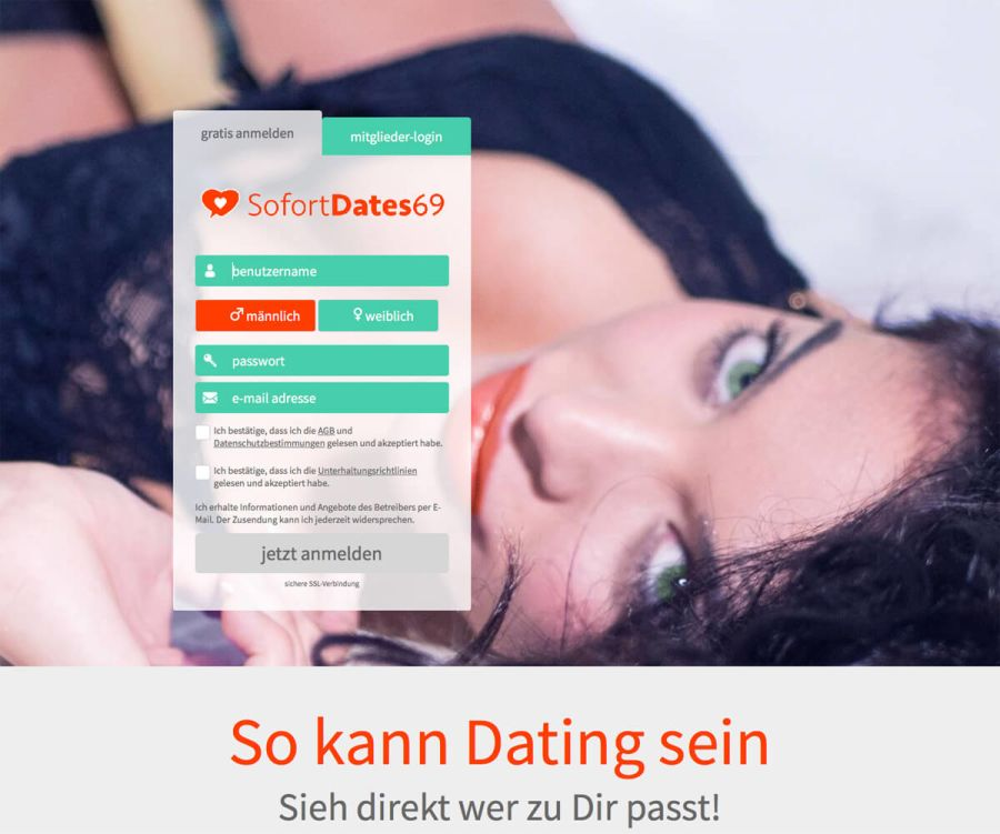 Sofortdates69 Signup