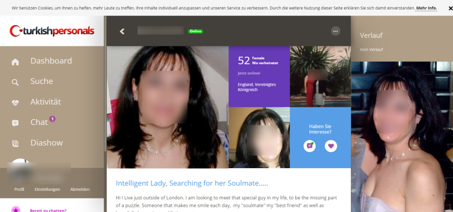Turkish Personals Userprofil