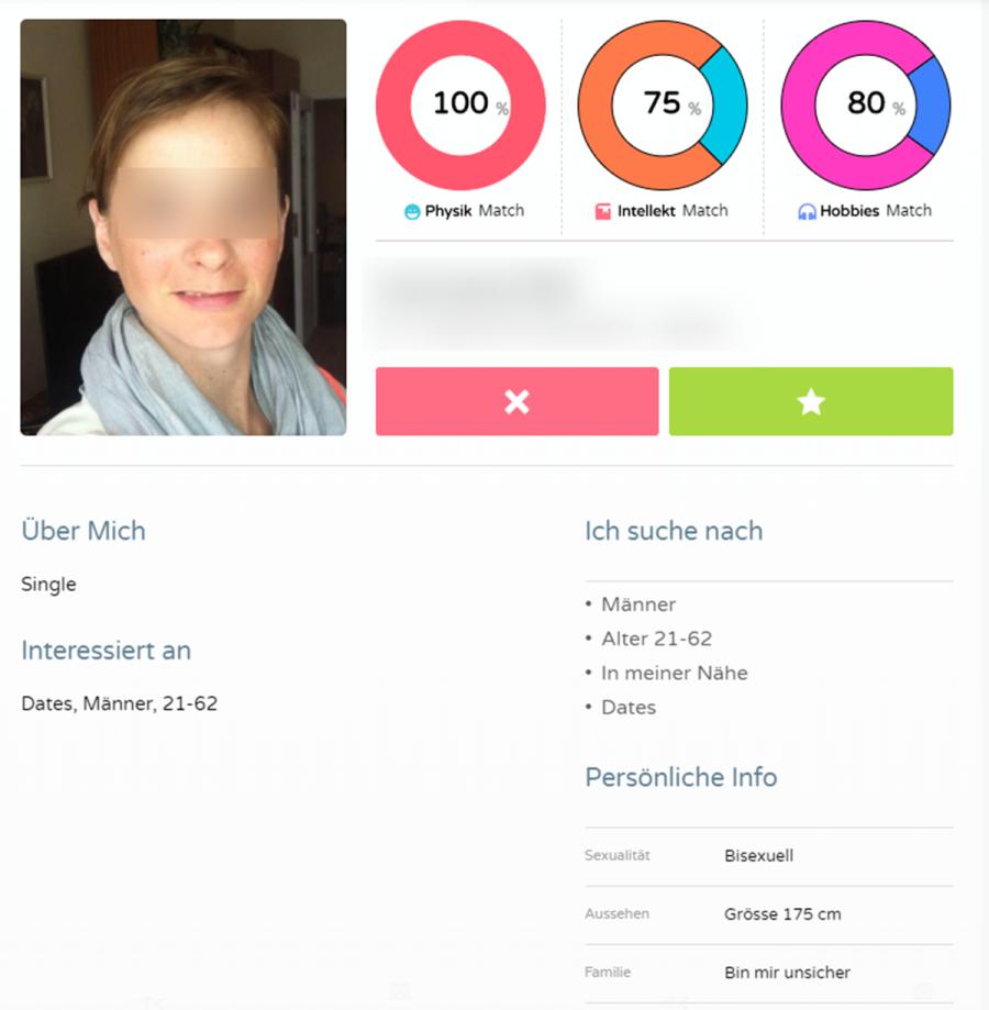 Verliebt18 Profil