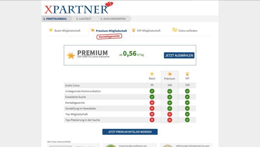 XPartner Kosten