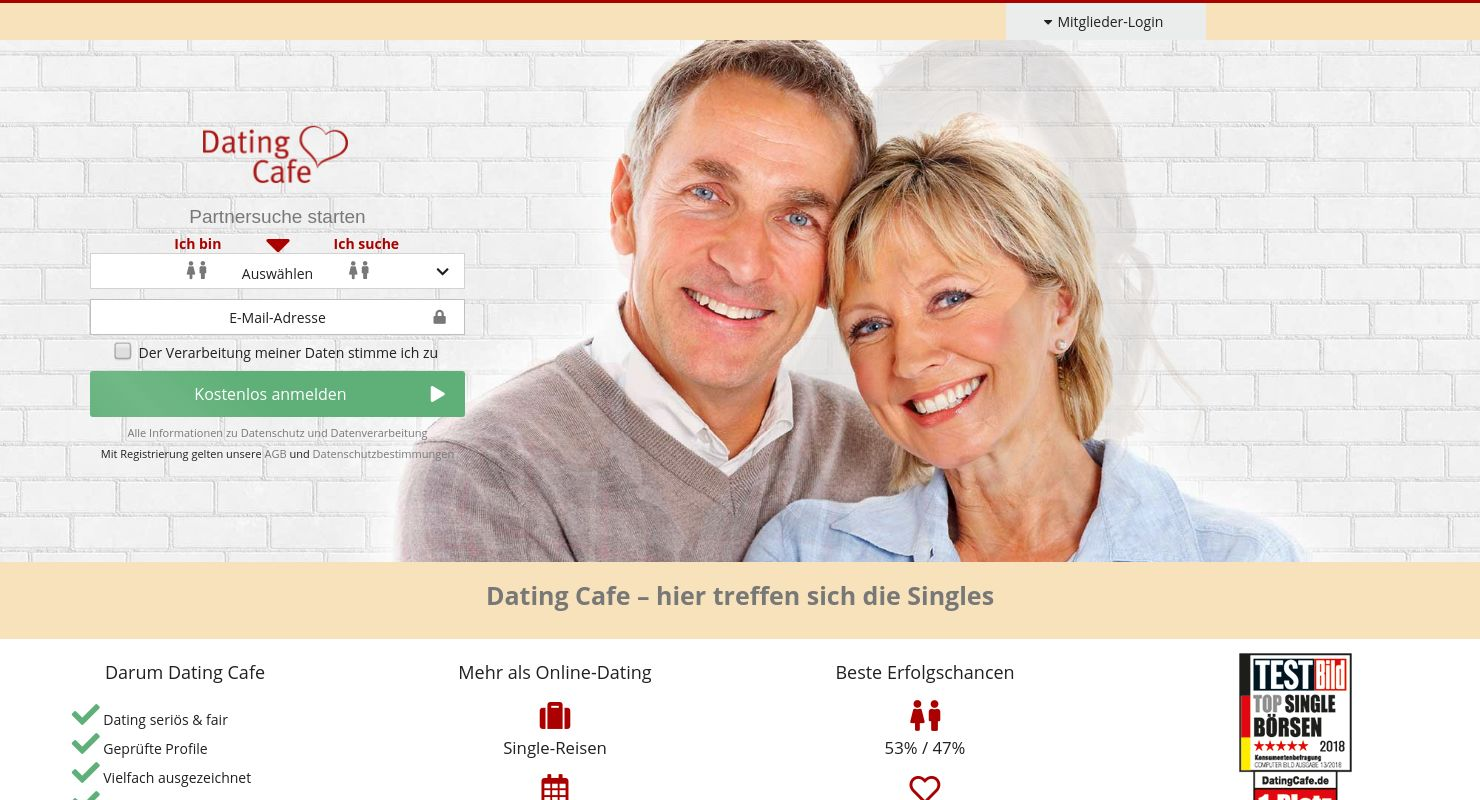 Dating seiten test 2019