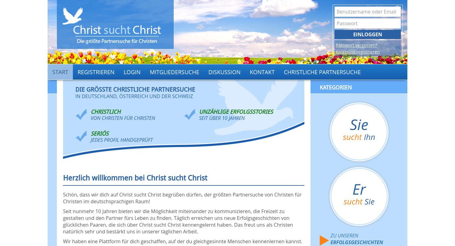 Christ sucht Christ